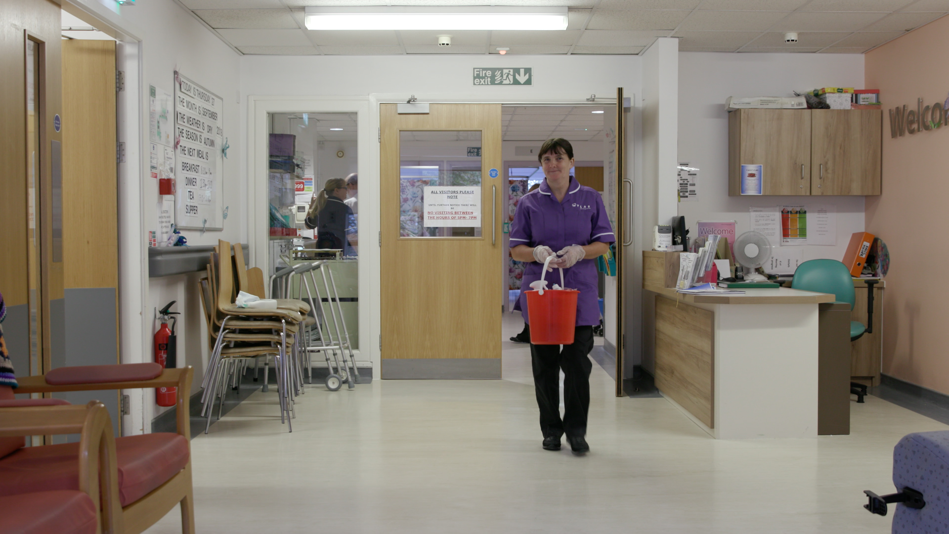 Soft FM Domestic with bucket on ward